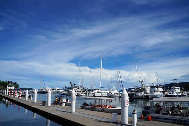 Sutera Harbor, tempat saya menyeberang ke Pulau Sapi.