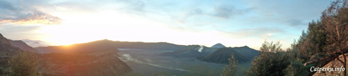Pananjakan, sunrise view point kawasan Bromo