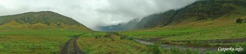 Lembah teletubies, jalur berpasir