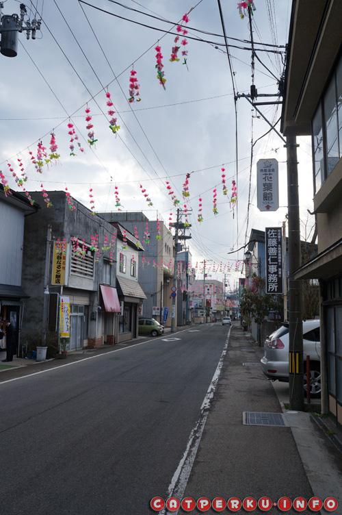 Salah satu distrik pedagang yang ada di Kakunodate. Sepi, tenang, asik buat jalan - jalan santai.