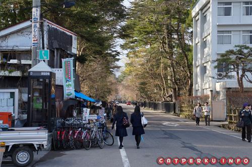 Akhirnya sampai ke distrik samurai, bisa jalan kaki, bisa juga sewa sepeda. Tapi agak mahal sih~~ saya lebih suka jalan kaki :D