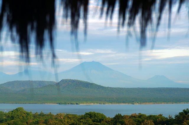 The Menjangan Resort mempunyai pemandangan cakep seperti ini.