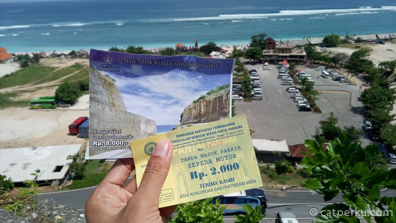 Tiket masuk ke Pantai Pandawa Bali Ini murah atau mahal?