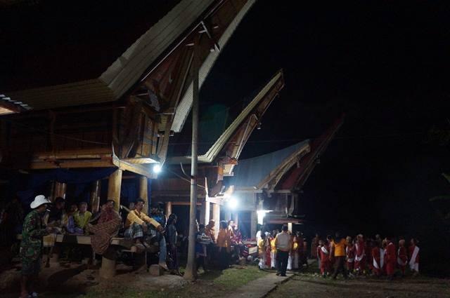 Tongkonan, rumah adat Masyarakat Tana Toraja.