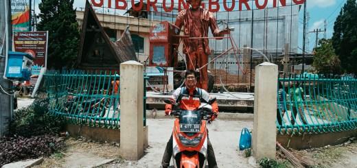 Touring Pertamina Enduro Go Out And Adventure ini lewat kota Siborongborong juga!