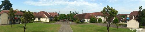 Pemandangan di dalam Benteng Vredeburg
