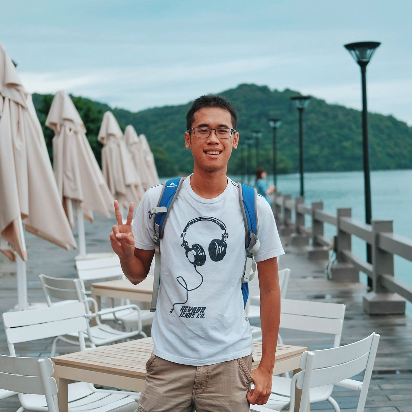 Travel blogger Indonesia Rijal fahmi mohamadi
