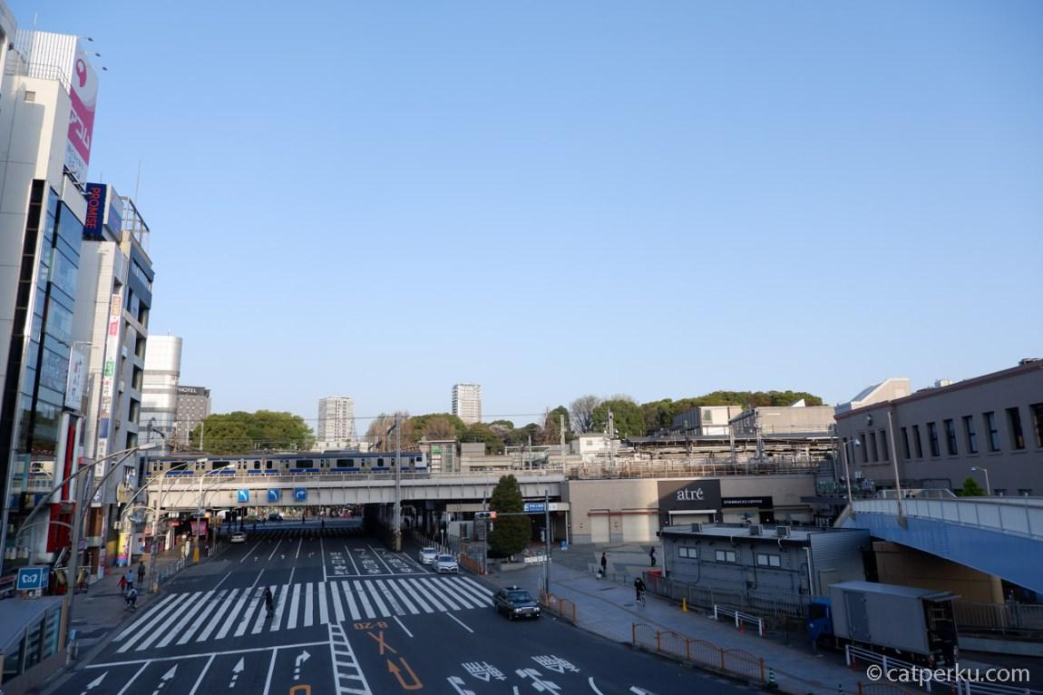 Ueno Station Di Pagi Hari