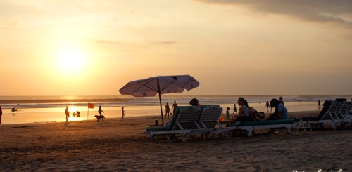 Ultimate Seminyak Beach Sunset!