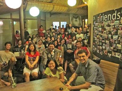 Yang datang ke acara Gathering Dua Ransel Bali, banyak banget! :D