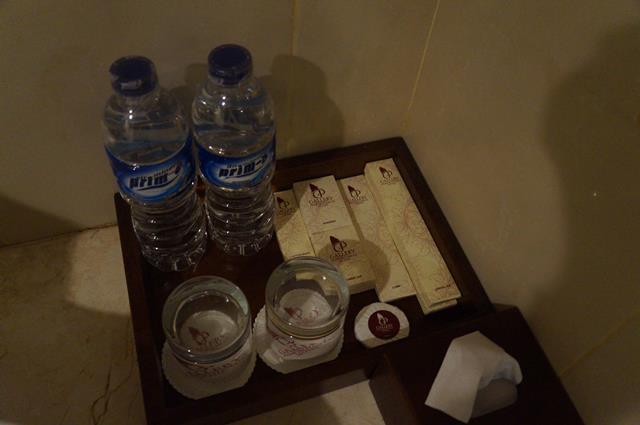 Amenities yang dipersiapkan oleh Gallery Prawirotaman Hotel.