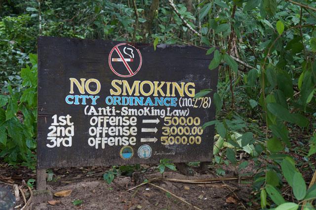 Anti litering law yang diberlakukan dengan keras di Palawan. Pengen banget  di Indonesia juga dijalankan secara nyata :|