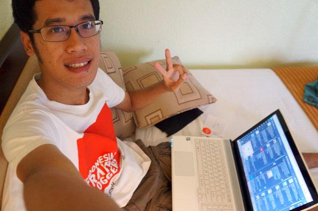 Buat digital geek seperti saya, internet adalah yang paling penting selama di Hotel.