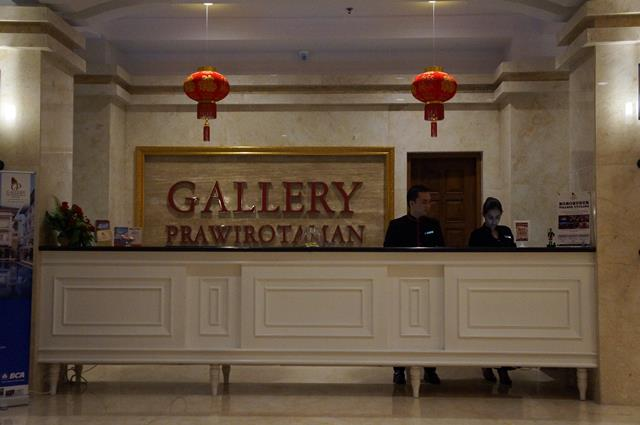 Disambut dengan ramah oleh staffnya ketika sampai di Gallery Prawirotaman Hotel.