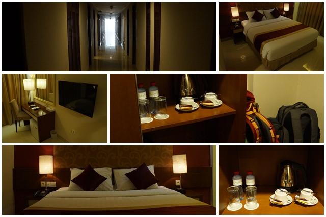 Kamar hotel luas, tenang dan nyaman.