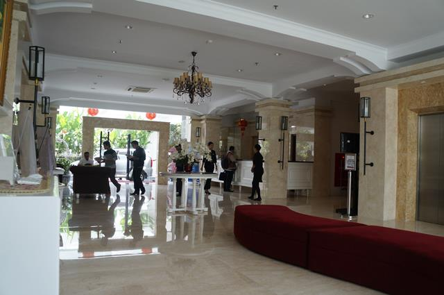 Lobi Gallery Prawirotaman Hotel Yogyakarta.