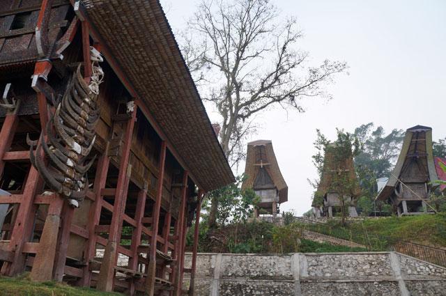 Masyarakat toraja mempunyai adat menyimpan jenazah di dalam rumah Tongkonan sebelum diadakan upacara pemakaman mewah.