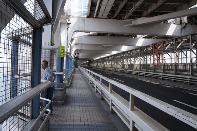 Yak ini dia Rainbow Bridge yang merupakan salah satu jalur menuju ke Odaiba.