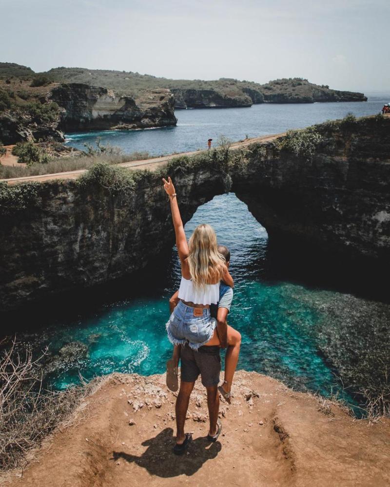 Broken Beach, Wisata Instagramable Nusa Penida [ Wisata Nusa Penida ]