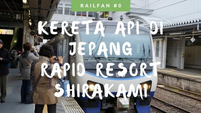 Ada yang mau coba naik kereta api di Jepang Rapid Resort Shirakami ini?