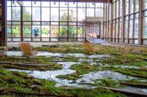 """Resort Abandonado """"ocupado"""" Pela Arte Natureza"""