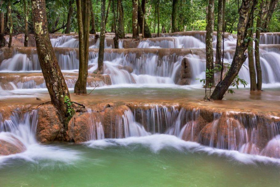 Free Multnoma Falls Winter Wallpaper 49 Cachoeiras Incr 237 Veis Ao Redor Do Mundo