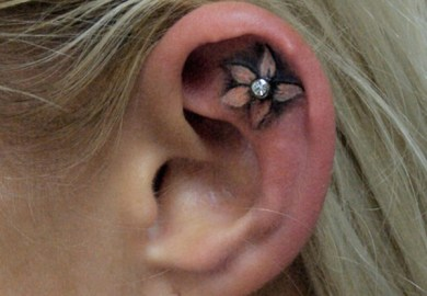 Behind Ear Tattoo Tattoos And Piercing Pictures At