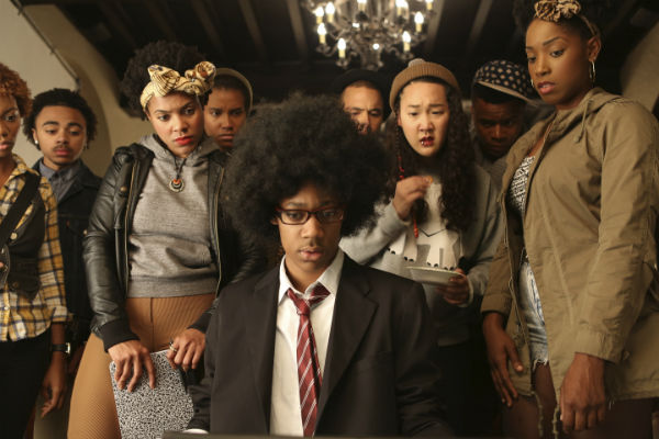Imagem do filme Dear White People, de 2014.