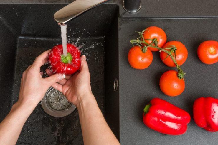 Guia esclarece que lavar nem sempre elimina os agrotóxicos dos alimentos