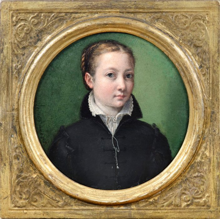 Sofonisba Anguissola, 'Autorretrato', sem data, acervo Fondation Custodia, Frits Lugt Collection, Paris, França