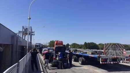 puente dique corte - Catriel25Noticias.com