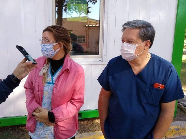 Catriel: Explican como vacunarse contra el Coronavirus y la Gripe