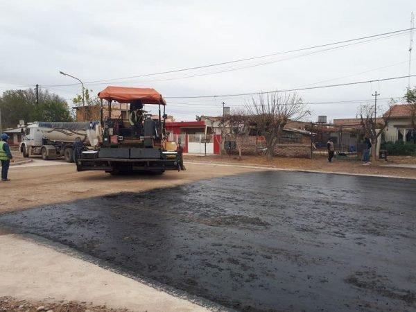 asfalto calle canada