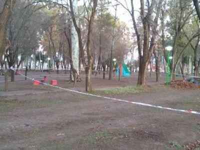 triangulito vallado - Catriel25Noticias.com