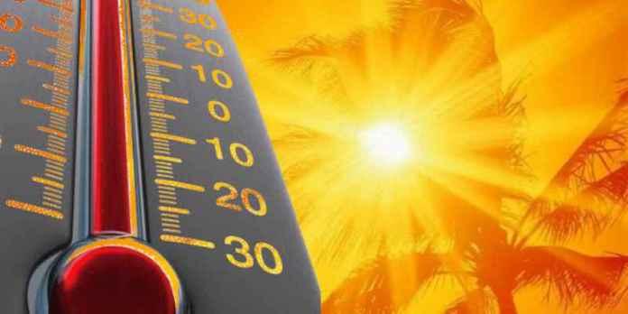 Clima: una semana en el horno!!!