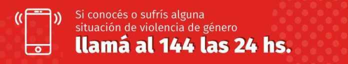 violencia de genero 144 - Catriel25Noticias.com