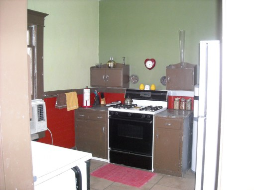 1912 kitchen before