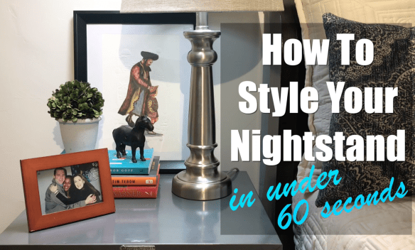 How to style your nightstand pic