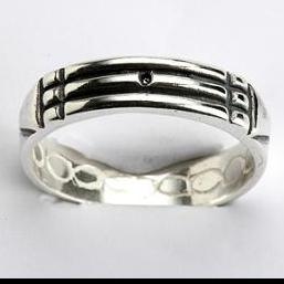 anillo atlante plata