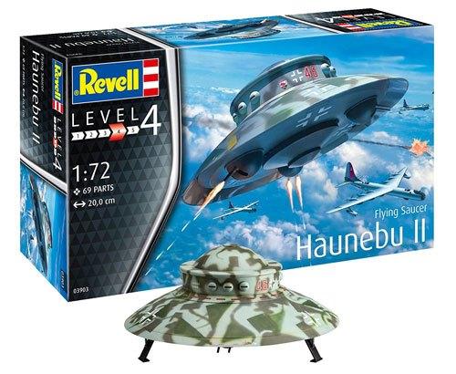 El platillo volante nazi 'Haunebu II' de Revell.