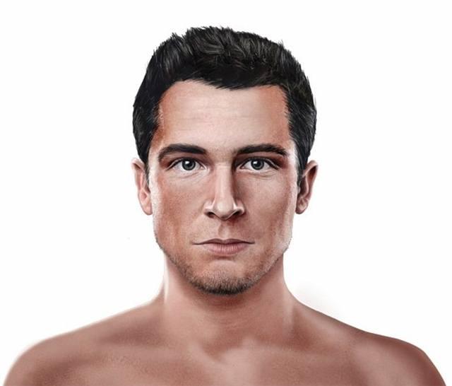 'Homo sapiens'. Apareció hace 200 mil años y es el hombre actual. Tiene la cresta de la frente reducida, frente aplanada, sin «bozal» y un mentón menos pronunciado. Su rostro continúa evolucionando.