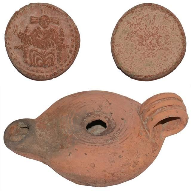 Algunos de los objetos encontrados hasta el momento.