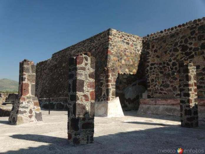 Plaza de las Columnas, Teotihuacán.