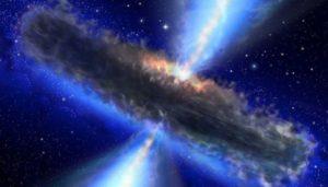 Descubren el agujero negro más grande visto en el espacio