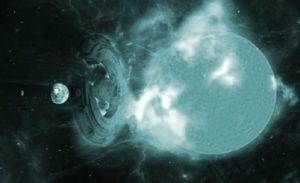 "¿Se Interpuso un objeto extraterrestre para evitar una poderosa ""Tormenta geomagnética"" dirigida hacia la Tierra?"