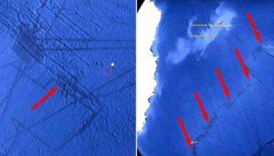 Descubren túneles extraños bajo el lecho marino del a Antártida
