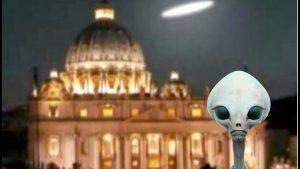 ¿Los alienígenas se esconden en la Ciudad del Vaticano?