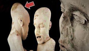 El misterio de las estatuas humanoides halladas en Saqqara