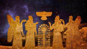 ¿los sumerios fueron los primeros en construir aeropuertos para Nibiru?