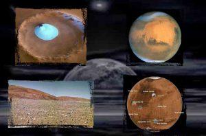Marte pudo haber tenido un complejo sistema de lagos subterráneos